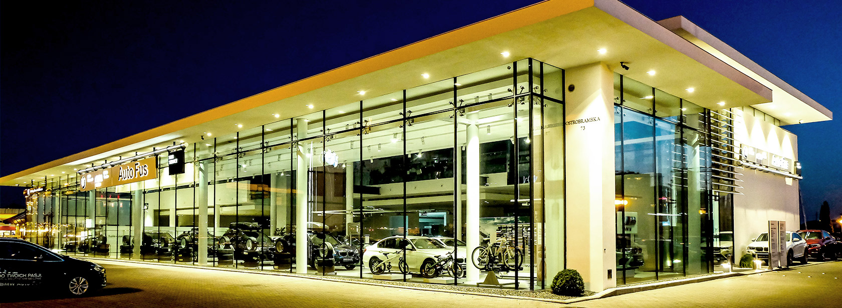 Salon Dealer BMW Auto Fus Group Warszawa